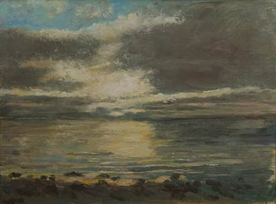 Painting - Manomet Sunrise by Edward White