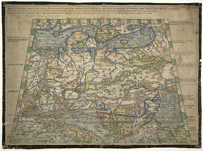 Cartography Photograph - Map Of Europe by British Library