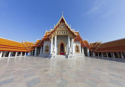 Photograph - Marble Temple by Alexey Stiop