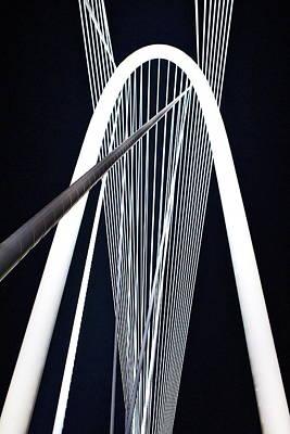 Art Print featuring the photograph Margaret Hunt Hill Bridge by John Babis