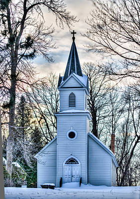Maria Chapel Art Print by Paul Freidlund