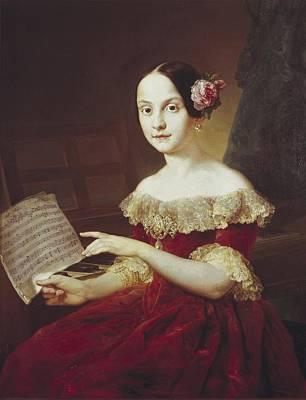 1833 Photograph - Maria Luisa Fernanda De Borb�n Y Borb�n by Everett