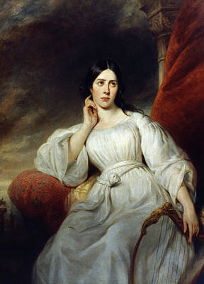 Desdemona Painting - Maria Malibran (1808-1836) by Granger