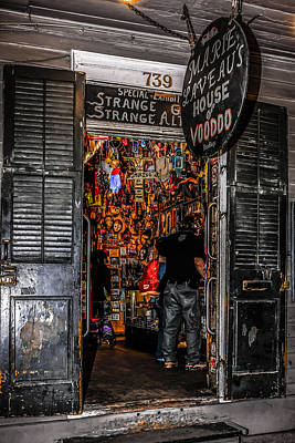 Voodoo Shop Wall Art - Photograph - Marie Laveau's House Of Voodoo by Chris Smith
