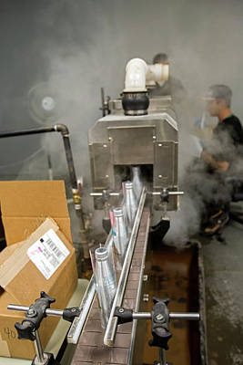 Carbonated Photograph - Marijuana Products Factory by Jim West