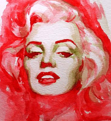 Marilyn Monroe Painting - Marilyn by Laur Iduc