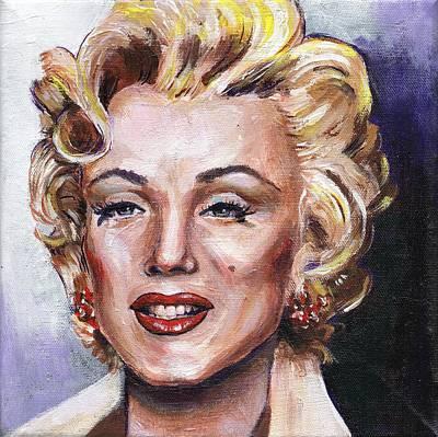 Painting - Marilyn Monroe by Charles  Bickel