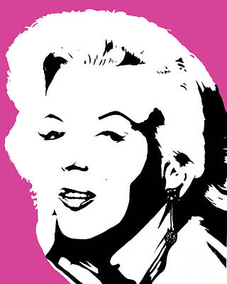 Famous Person Painting - Marilyn Monroe by Juan Molina