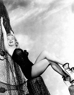 Digital Art - Marilyn Monroe by Studio Photograph