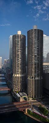Goldberg Photograph - Marina City Chicago by Steve Gadomski
