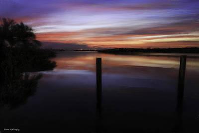 Photograph - Marina Sunset by Fran Gallogly