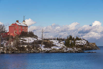 Photograph - Marquette Lighthouse by John McGraw