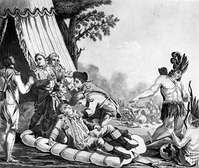 Quebec Painting - Marquis De Montcalm (1712-1759) by Granger