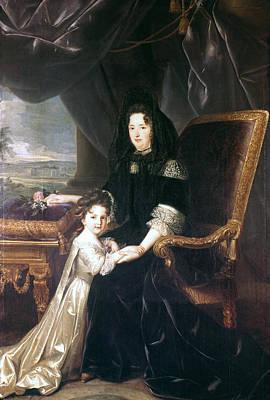 Marquise De Maintenon (1635-1719) Art Print by Granger