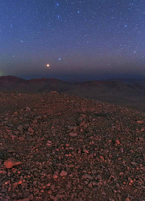 Planetary Science Photograph - Mars In Opposition by Babak Tafreshi