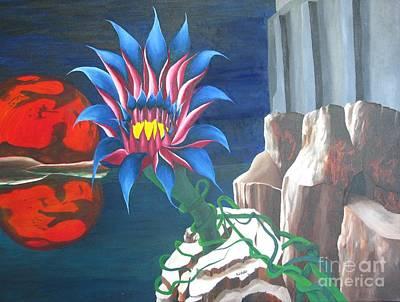 Mars Rising Art Print by Richard Dotson