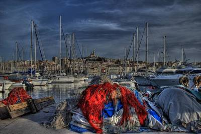 France Provence Photograph - Marseille by Karim SAARI