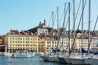 Dazur Photograph - Marseille, Provence-alpes-cote Dazur by Panoramic Images