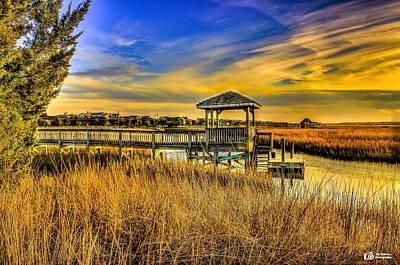 Photograph - Marsh Sunset by Ed Roberts