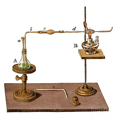 Photograph - Marsh Test Apparatus 1867 by Science Source