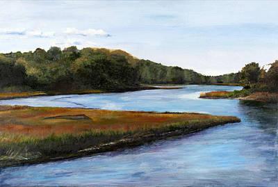 Pastel - Marshside by Cindy Plutnicki