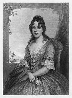 First Daughters Painting - Martha Jefferson Randolph (1772-1836) by Granger