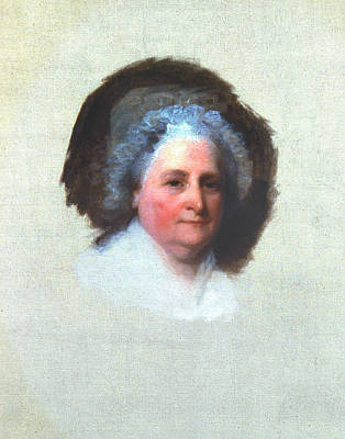 Martha Washington (1731-1802) Art Print by Granger