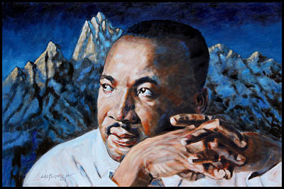 Rights Painting - Martin Luther King by John Lautermilch