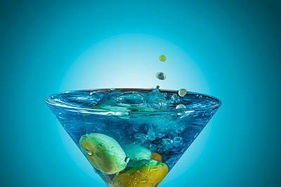 Martini Royalty-Free and Rights-Managed Images - Martini by Peter Lakomy