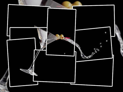 Martini Royalty-Free and Rights-Managed Images - Martini Spilling by Alexey Stiop