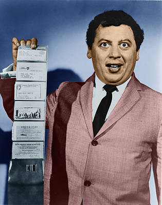 Photograph - Marty Allen by Celestial Images
