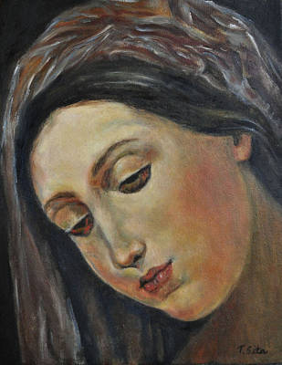 Painting - Mary by Terry Sita