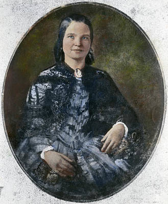 Republican Painting - Mary Todd Lincoln by Granger