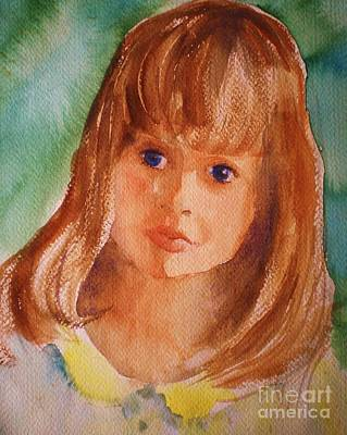 Painting - Mary's Little Girl by Suzanne McKay