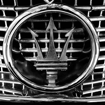 Power Photograph - Maserati by Les Cunliffe