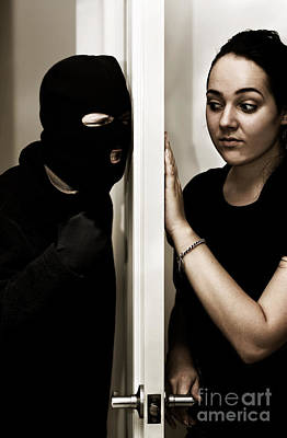 Burglar Photograph - Masked Intruder by Jorgo Photography - Wall Art Gallery