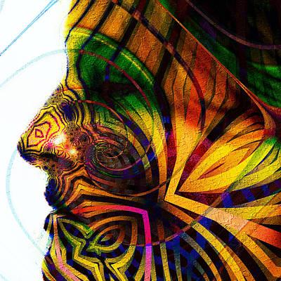Masquerade Art Print by Kiki Art