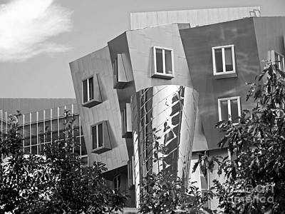Massachusetts Photograph - Massachusetts Institute Of Technology Stata Center by University Icons