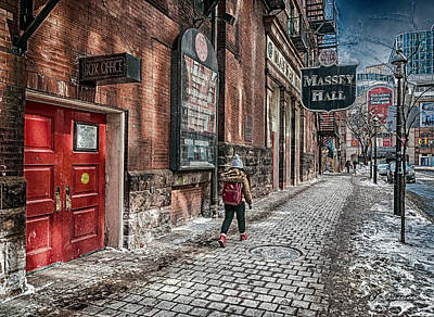 Massey Hall Wall Art - Photograph - Massey Hall by EJ Ouellette