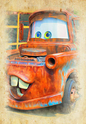 Photograph - Mater by Ricky Barnard