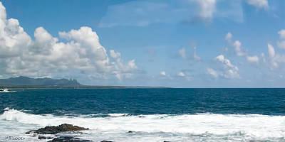 Photograph - Maui Sea And Surf by Michael Flood