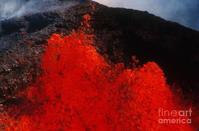 Mauna Loa Volcano, Hawaii Print by Stephen & Donna O'Meara