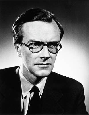 Maurice Wilkins Print by National Library Of Medicine