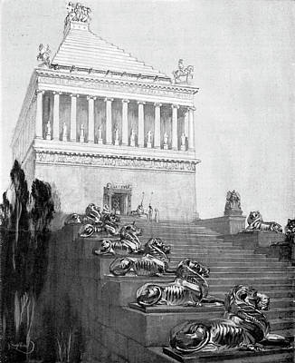 Tomb Photograph - Mausoleum At Halicarnassus by Cci Archives