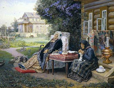 Realistic Photograph - Maximov, Vasili M. 1844-1911 by Everett