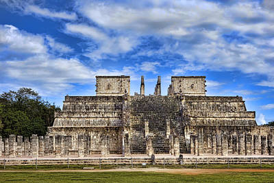 Photograph - Mayan Ruins At Chichen Itza by Ann Powell