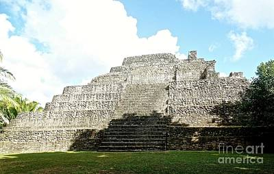 Photograph - Mayan Temple Chacchobon Mexico by John Potts