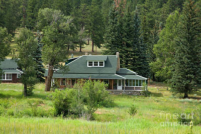 Photograph - Mcgraw Ranch Near Estes Park by Fred Stearns
