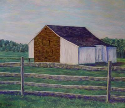 Pastel - Mcphersons Barn Gettysburg by Joann Renner
