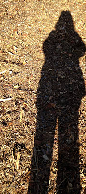 Photograph - Me And My Shadow by Carolyn Donnell